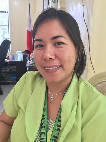 Municipal employee Jessyl S. Ortega   by dilg.yolanda