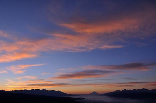 japan fujisan nagano 富士山 mtfuji 長野 seaofclouds suwako 雲海 morningglow 夜明け 諏訪湖 shiojiri 朝焼け 塩尻 高ボッチ