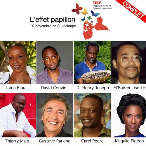 TEDxPTP - intervenants
