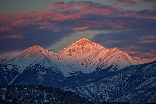 mountain sunrise colorado