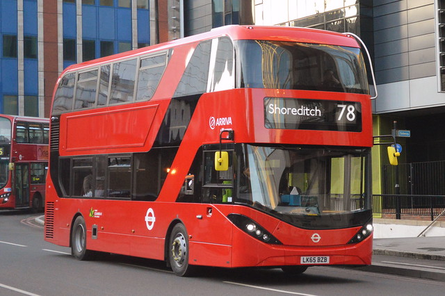 HA 5 (LK65 BZB) Arriva London