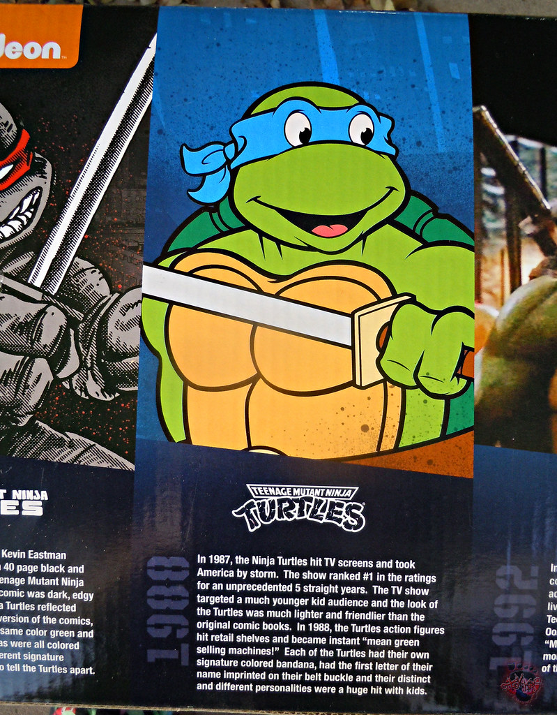 "Nickelodeon ""HISTORY OF TEENAGE MUTANT NINJA TURTLES"" FEATURING LEONARDO - Original LEONARDO /  ORIGINAL '88 LEONARDO i (( 2015 )) by tOkKa"