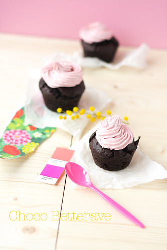 cupcakes-choco-betterave06 | by Rose Sucre