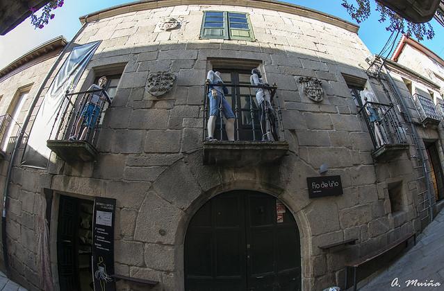 Edificación en Allariz-Galicia-España