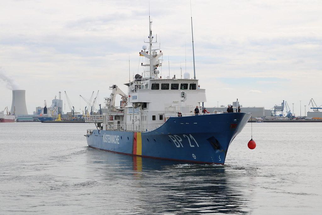 Bundespolizei: Einsatzschiff BP 21 BREDSTEDT läuft aus zum nächsten Seestreifendienst auf der Ostsee