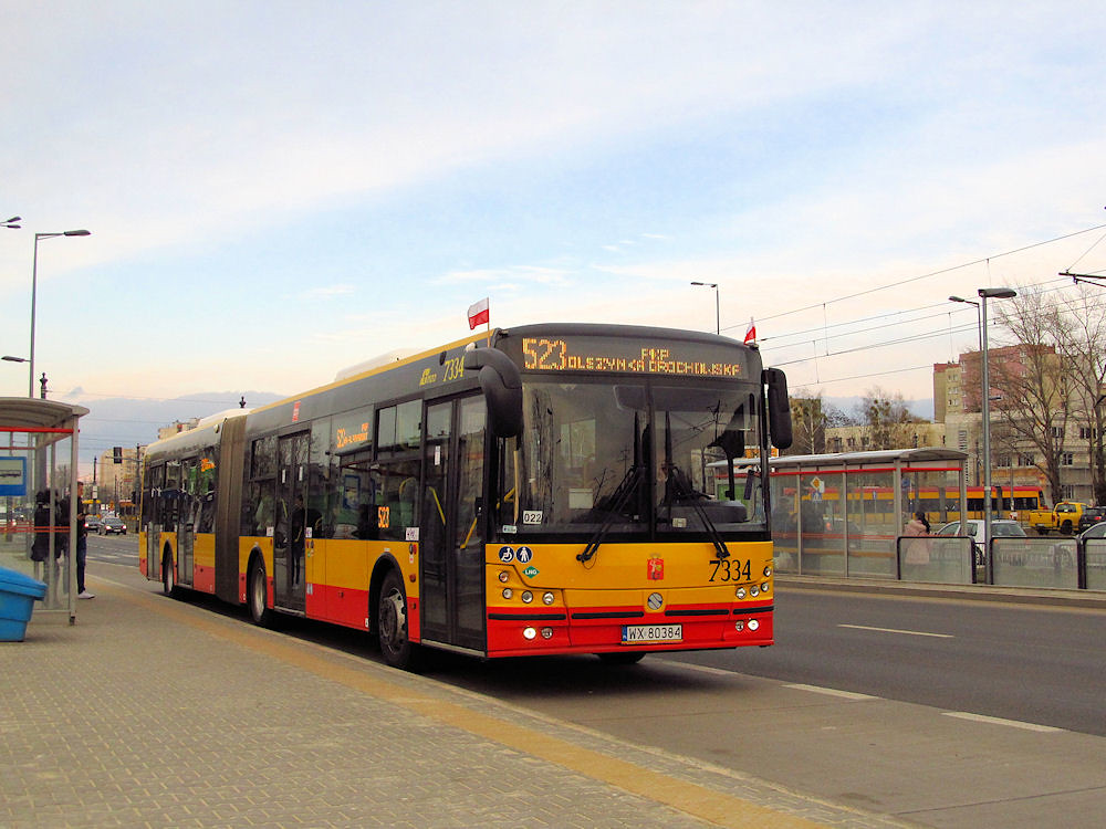 Solbus Solcity SM18 LNG, #7334, MZA Warszawa | Warszawa - Be… | Flickr