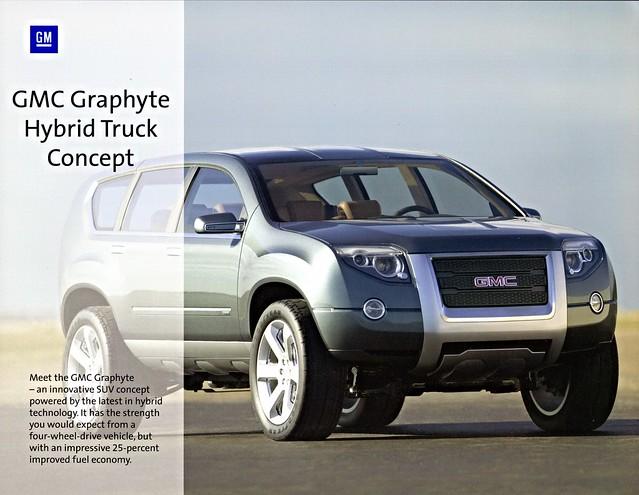 2005 GMC Graphyte Hybrid Truck Concept