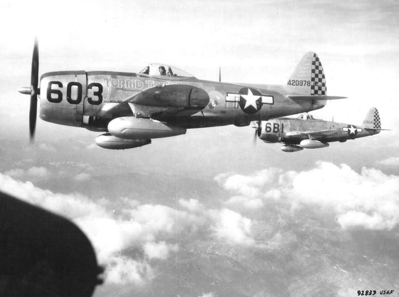 P-47D Thunderbolt fighters