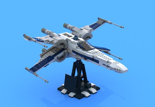 T-70 with UCS style stand no.1 | by Armstrong X-Wing
