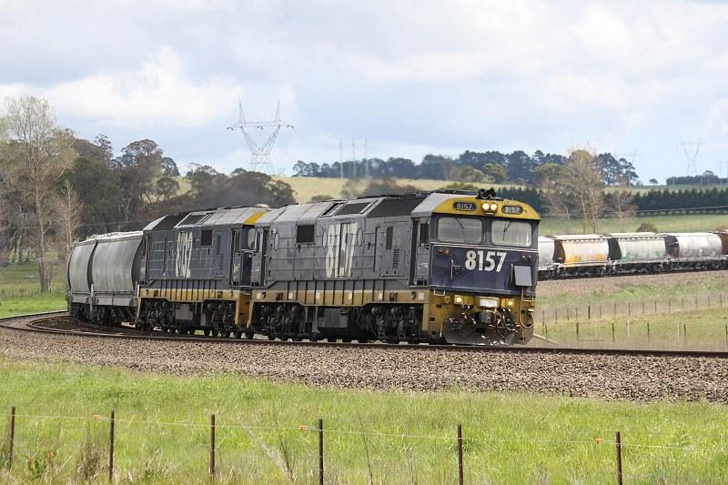 Manildra train by David Arnold