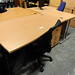 1600L Beech work desk