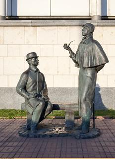 Шерлок Холмс и доктор Ватсон | by Nickolas Titkov
