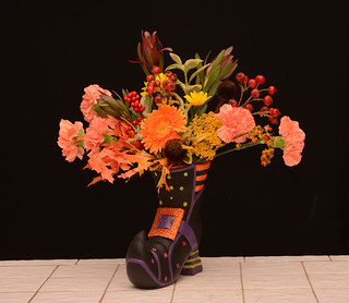 WitchesShoe—The Rittners School of Floral Design, Boston | by Flower Factor