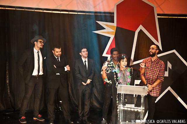 Da Chick: Melhor atuação ao vivo artista revelação nacional - Portugal Festival Awards '15
