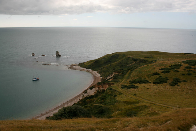 View back to Mupe Bay from Bindon Hill