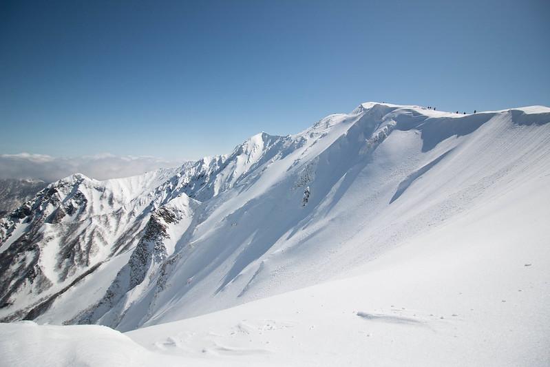 伯耆大山 雪山登山