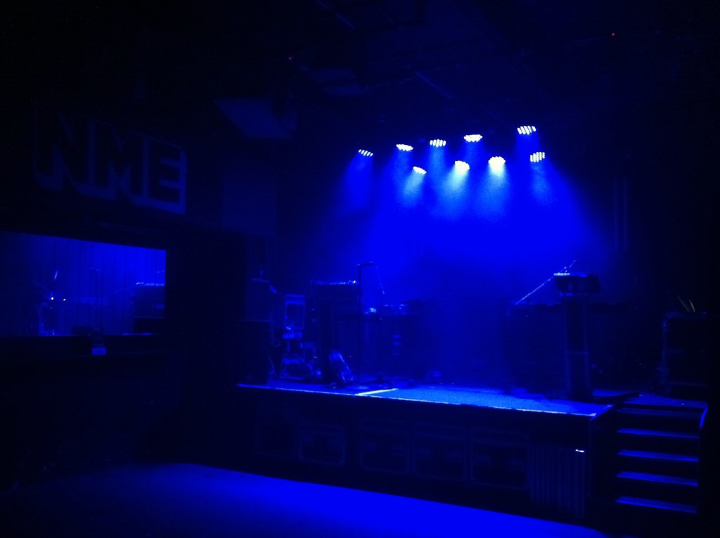 NME magazine launch party stage set for Chvrches | NME stage