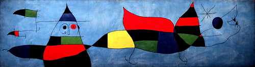 IMG_5807 Joan Miro. 1893-1983. Peinture. painting. Pour Emil Fernandez Miro.   1963.    Fondation Joan Miro. Barcelone