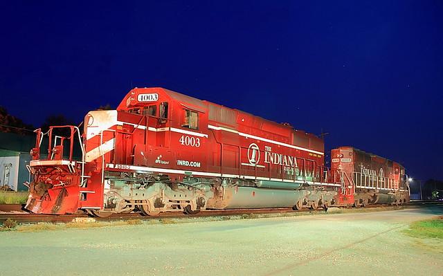 INRD 4003 (SD40-2) Linton, Indiana