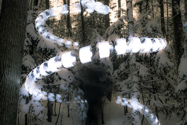 Snow worm.