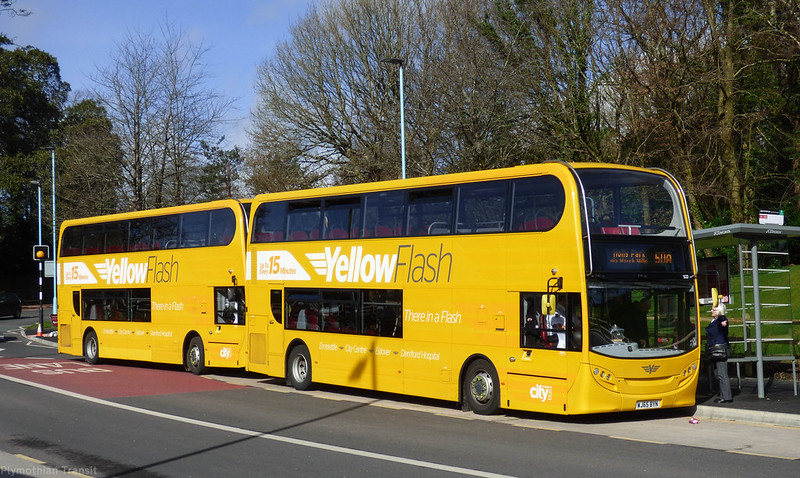 Plymouth Citybus 522 WJ65BYN