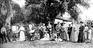 Nagybányai művésztelep 1900 körül