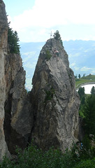 Klimgebied Knorren bij Mayrhofen