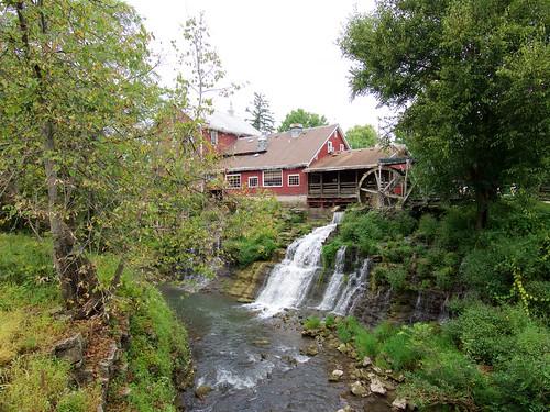 ohio mill waterfall stream clifton cliftonmill