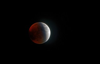 HDR - Lunar eclipse (partial phase), 28.09.2015 | by bartek.o