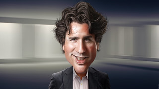 Justin Trudeau - Caricature | by DonkeyHotey