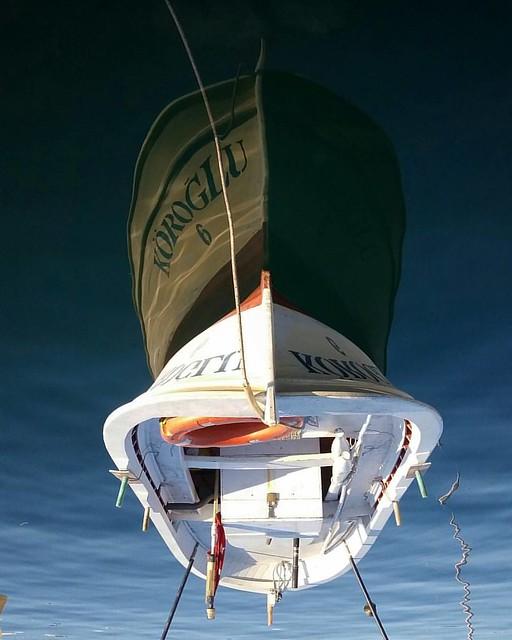 #kozlu #zonguldak #sea #boat #reflection #blacksea #turkey #hasankoca