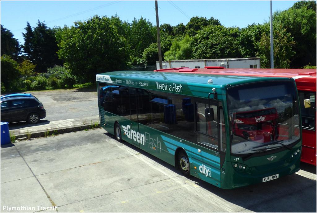 Plymouth Citybus 157 WJ65HMV