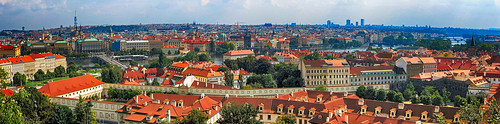 prague praha panorama czechrepublic view roofs city bridges vltava canon canonpowershot