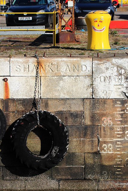 Shankland and the Happy Bollard