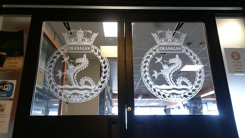CFB Esquimalt window etch