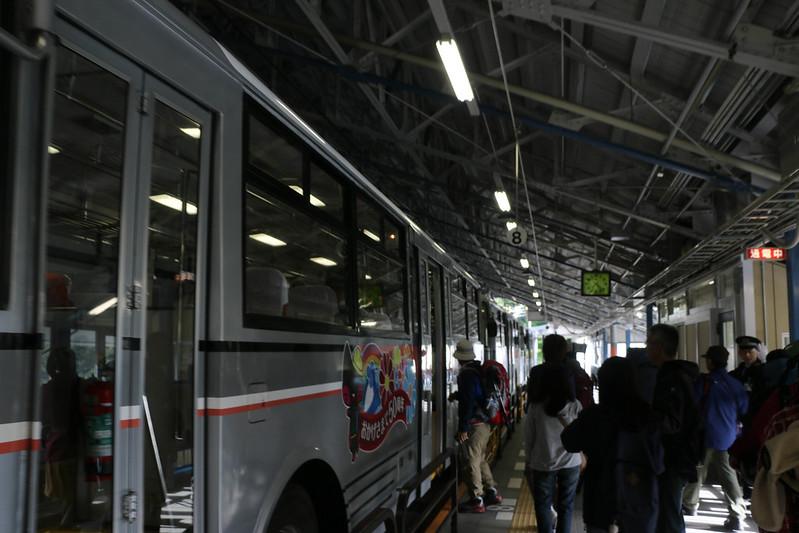 立山黒部アルペンルート バス