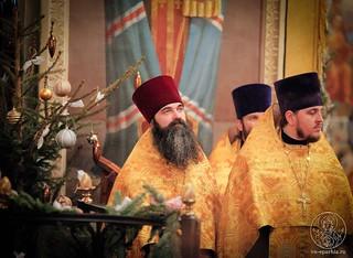 Великая вечерня в Иверском монастыре 190