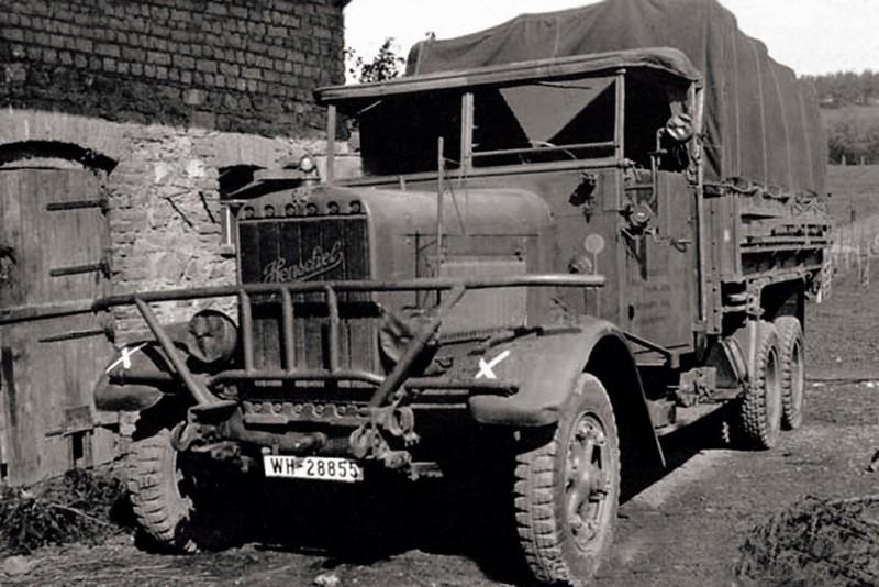 Камион Henschel Тип 33D1