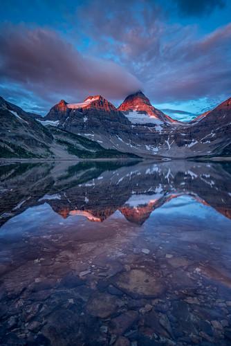 park lake canada water landscape magog peak columbia location mount british assiniboine wedgewood provincial 2015