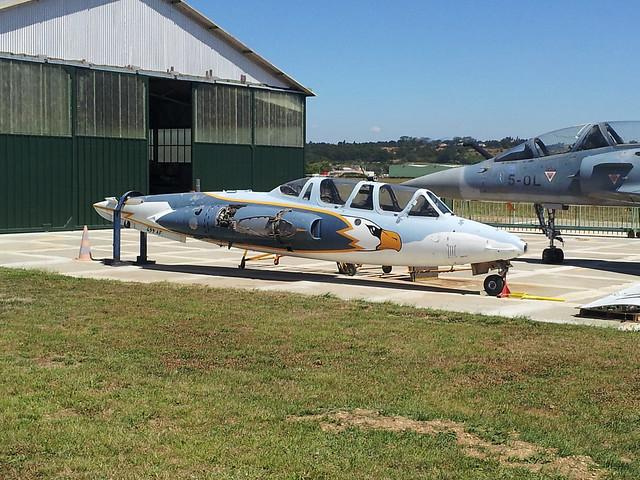 CM-170R 499/AF ex GI-312 FrAF. Stored/ Dismantled. Montelimar-Ancone,10-08-2012.