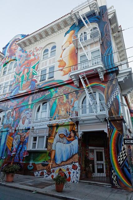 Women's Center mural.