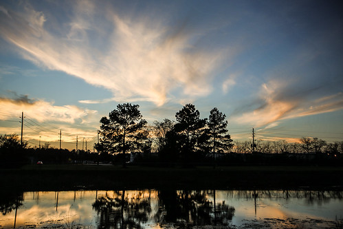 texas tomball theislane theisfamily ironorepits ponds swimminghole sunset pinetrees wyojones np