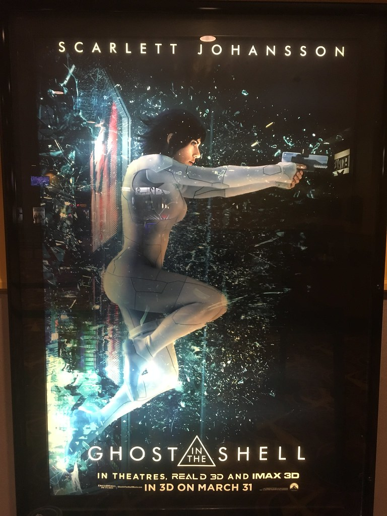 Ghost In The Shell 2017 Movie Poster Heath Bar Flickr