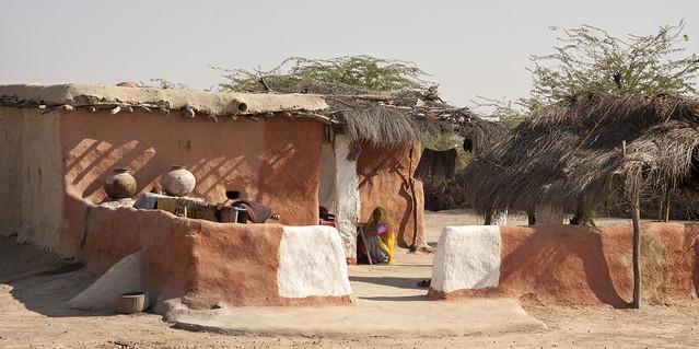Village compound - Bishnoi, India 2008