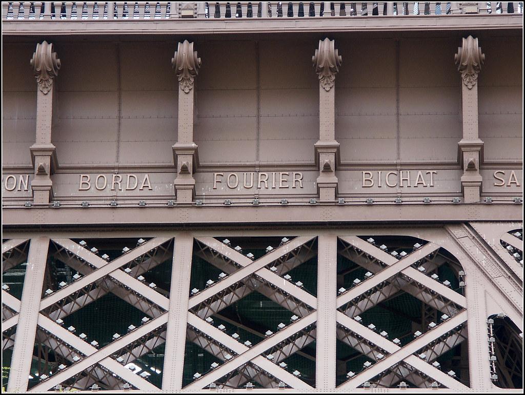 La Tour Eiffel, Paris | Fourier, one of my heroes, commemora… | Flickr