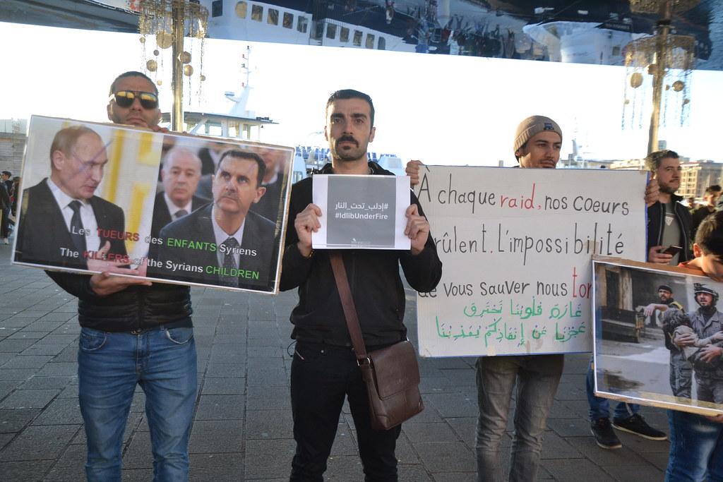 Syrie - Idlib under fire