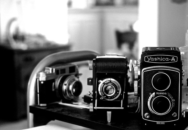 Cameras from the past