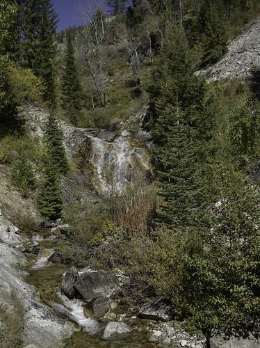 creek elkcreek waterfall idaho
