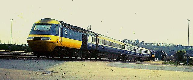 little high speed train 1980