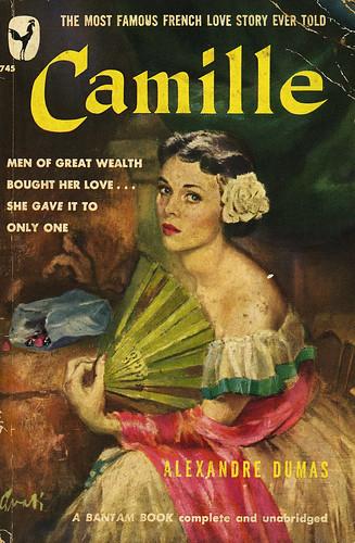 Bantam Books 745 - Alexandre Dumas - Camille